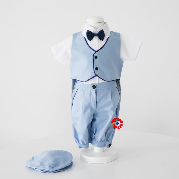 Set Botez Complet din In Pentru Baiat, Blue Summer, TinTin Shop [2]