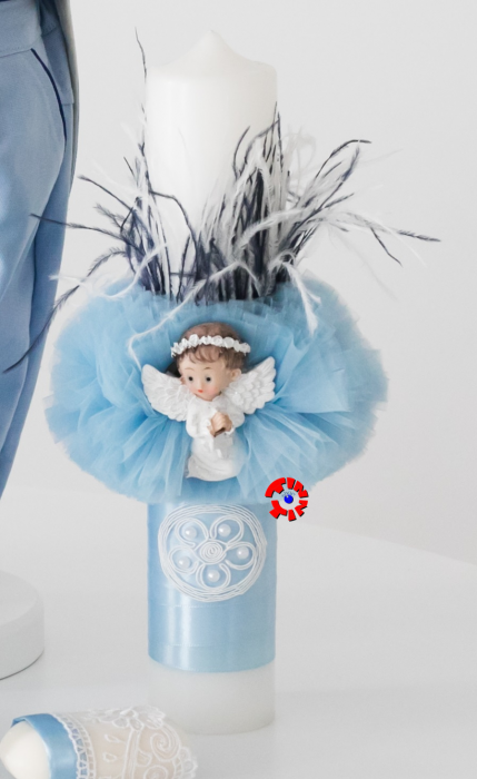 Set Botez Complet din In Pentru Baiat, Blue Summer, TinTin Shop [3]