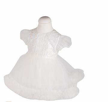 rochie botez alba cu trena [1]