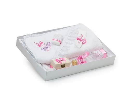 Trusou Botez pentru Fetite, Princess, Roz pal, TinTin Shop [0]