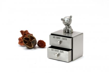 Set cutiute argintate pentru prima suvita si primul dintisor [1]