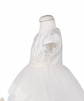 rochie botez alba cu trena [3]