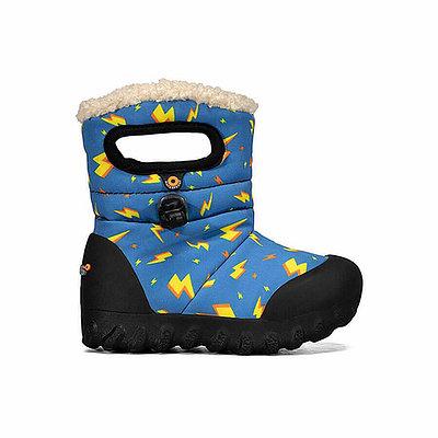 BOGS Footwear cizme de iarnă impermeabile B-MOC Lightning Royal Blue Multi [0]