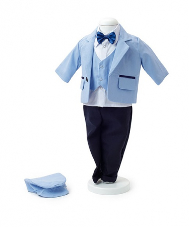 Costum de botez din IN Bleu, TinTin Shop