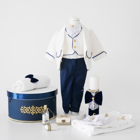 Costum Micul Print din jacard, TinTin Shop [0]