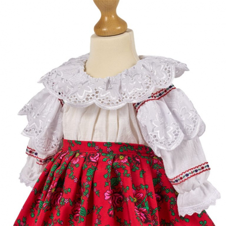Costum national fetite cu traista, TinTin Shop [1]