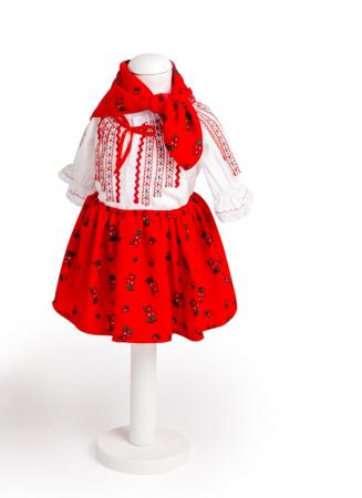 Costum traditional pentru fetite, TinTin Shop