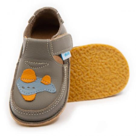 Pantofi cafea cu lapte cu avion, Dodo Shoes