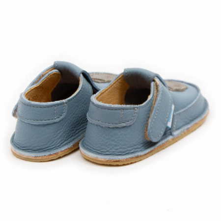 Pantofi copii baby blue cu hipopotam, Dodo Shoes2