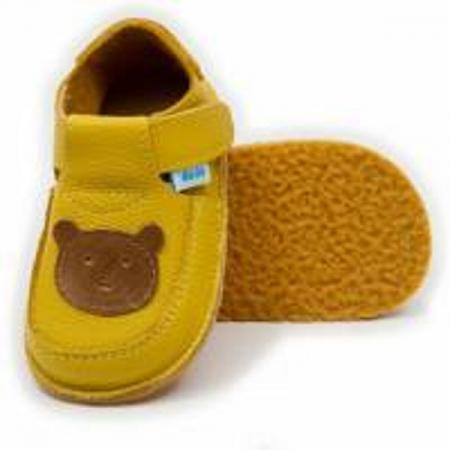 Pantofi galben cu ursulet, Dodo Shoes0