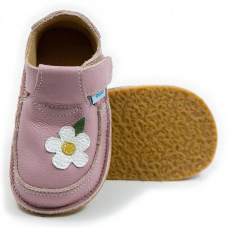 Pantofi cameo cu floare alba, Dodo Shoes [0]