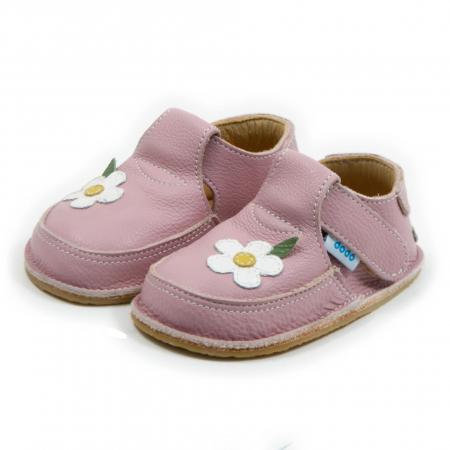 Pantofi cameo cu floare alba, Dodo Shoes [1]
