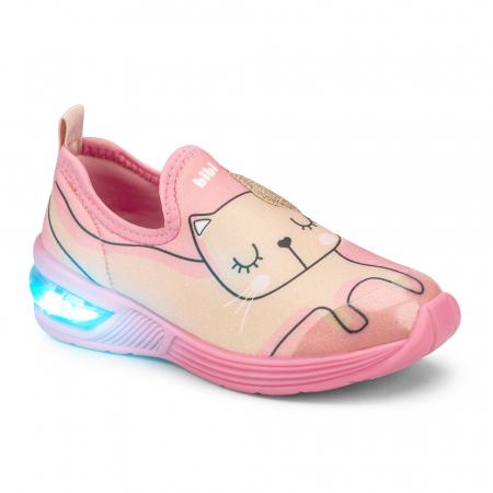 Pantofi Led Bibi Space Wawe 2.0 Kitty0