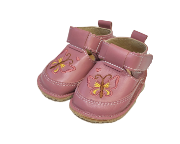 Pantofi roz cu fluture, Macco1