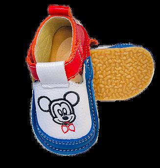 Pantofi multicolori cu Mickey, Macco0