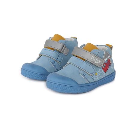 Pantofi sport albastri cu elemente reflectorizante D.D.Step - Ponte 201