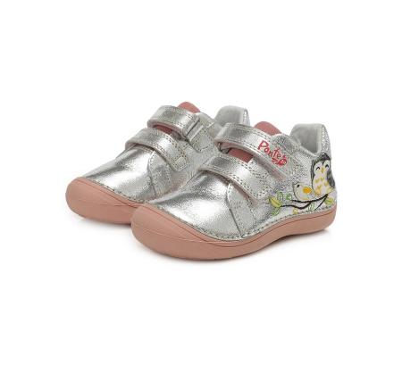 Pantofi sport argintii D.D.Step - Ponte 201