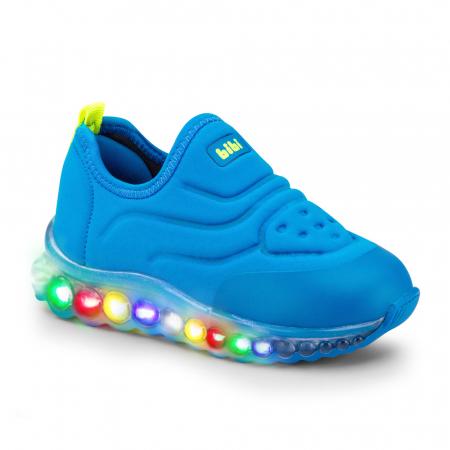 Pantofi sport Led BIBI Roller Celebration Blue Aqua0