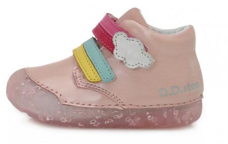 Pantofi sport roz curcubeu D.D.Step0