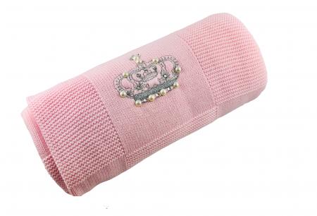 Patrura tricotata bebelusi roz [0]
