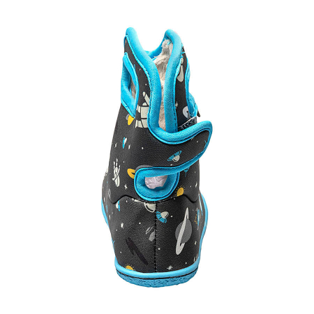 Cizme impermeabile copii, BOGS FOOTWARE, Space Man Gray Multi [2]