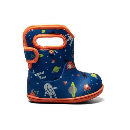 Baby Bogs, Spaceman Blue Multi, Cizme Impermeabile Bogs Footware