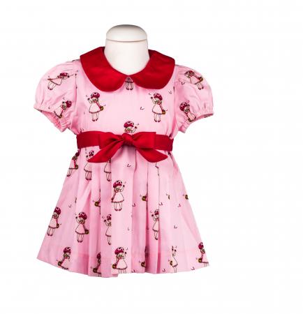 Rochie fete roz, TinTin Shop