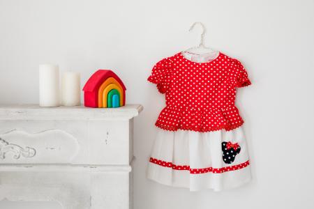 Rochie buline rosii TinTin Shop [2]