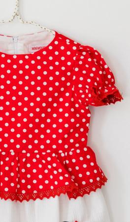 Rochie buline rosii TinTin Shop [1]