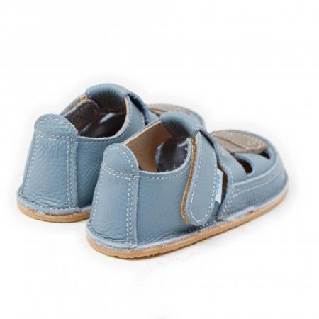 Sandale copii Baby Blue cu Girafa, Dodo Shoes2