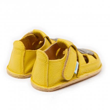 Sandale copii galbene cu Hipo, Dodo Shoes [2]