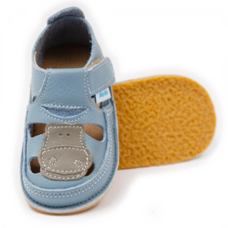 Sandale copii Baby Blue cu Hipo, Dodo Shoes [0]
