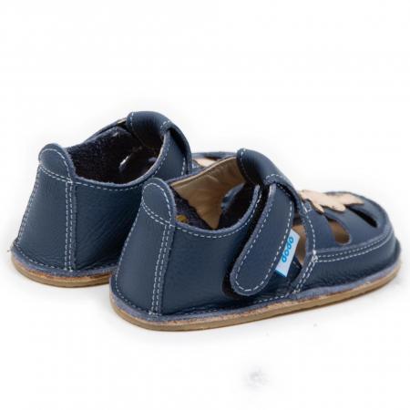 Sandale baieti Smokey cu Girafa, Dodo Shoes [1]