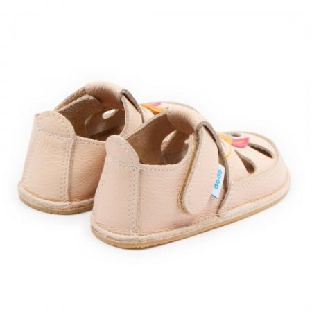 Sandale copii crem Tulip, Dodo Shoes2