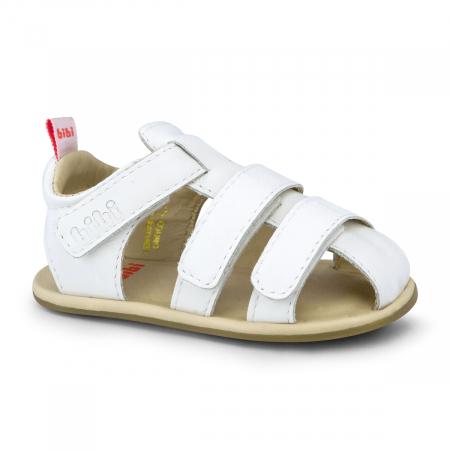 Sandale albe inchise in fata, gama Afeto, Bibi Shoes1
