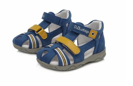 Sandale pentru Baieti de Culoarea Albastru, D.D.Step1