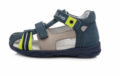 Sandale pentru Baieti de Culoarea Bleumarin, D.D.Step0