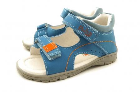 Sandale pentru Baieti de Culoarea Sky Blue, D.D.Step [1]
