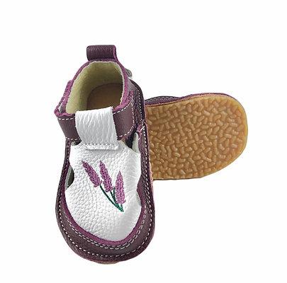 Sandale mov cu lavanda, Macco