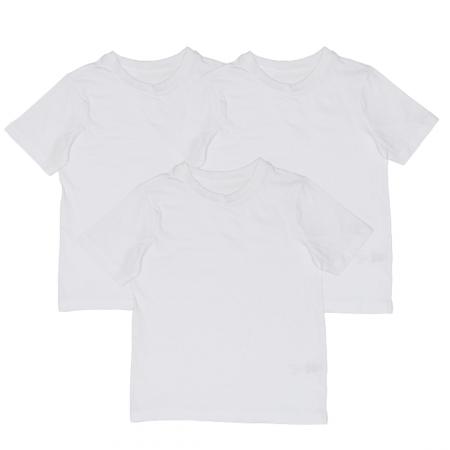Set 3 Tricouri Albe Pentru Copii, TinTin Shop [0]