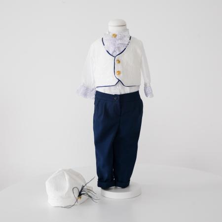 Costum Micul Print din jacard, TinTin Shop [2]