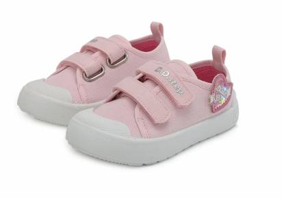 Tenisi pentru fete, roz DD Step1