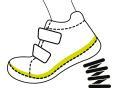 Tălpile pantofilor sunt realizate din cauciuc natural. Utilizarea cauciucului de înaltă puritate asigură durabilitatea. Tălpile încălțămintei au protecție consolidată la vârf și sunt rezistente la impacturile fizice și nu alunecă. Pantofii sunt ușori, dar flexibili datorită flexibilității lor, permițând o mișcare naturală.  FLEXIBILITATE Pantofii noștri sunt confortabili și flexibili. Sunt realizate cu protecție întărită la nas și călcâi, țin bine piciorul. Datorită designului lor anatomic corect, permit mișcarea naturală.  BRANȚ DE AMORTIZARE A VIBRAȚIILOR Branțul confort anti-vibrații reduce sarcina pe picioarele copiilor. Branțul este echipat cu o ridicare transversală și un strat de amortizare a vibrațiilor la călcâie, reducând impactul șocurilor și vibrațiilor asupra picioarelor sensibile ale copiilor în timpul mersului, alergării și săriturilor.