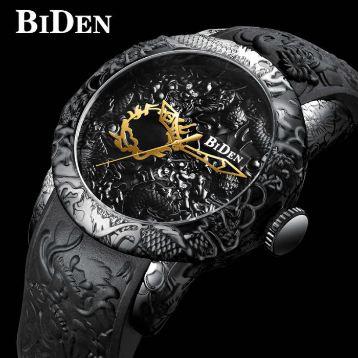 Ceas barbatesc Biden Fashion Quartz Full Otel inoxidabil 1