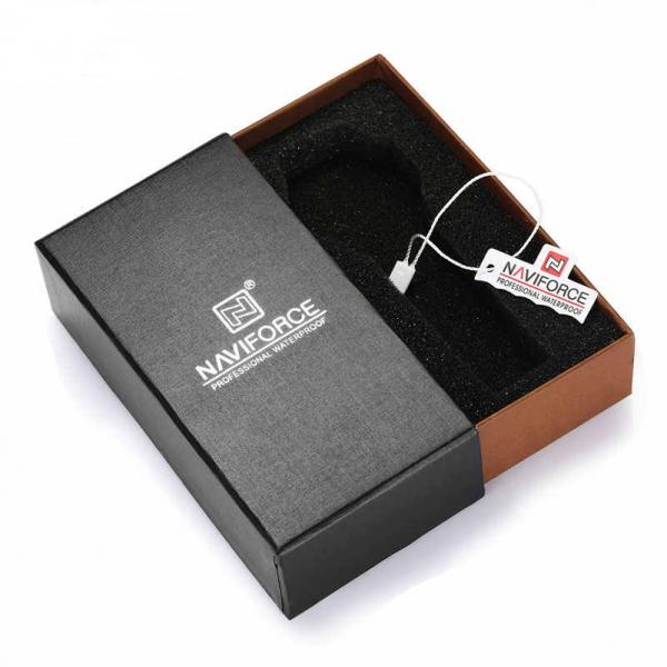 Ceas barbatesc Casual Dual Time Luxury Naviforce Cronograf Quartz Digital 6