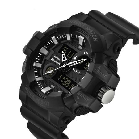 Ceas barbatesc, Shock resistant, Militar, Sport, Digital, Dual-time 1