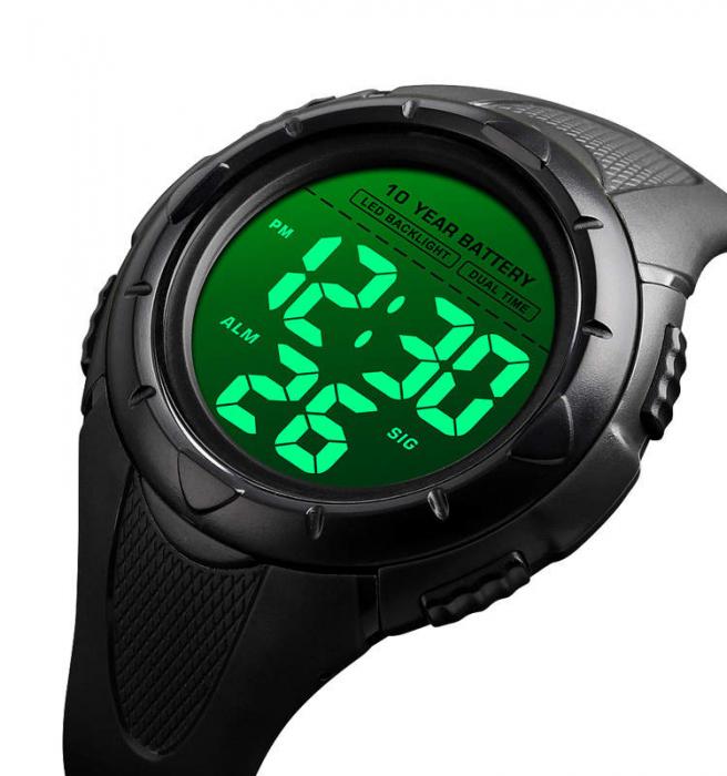 Ceas barbatesc Skmei Digital Sport viata Rezistenta baterie 10 ani [2]