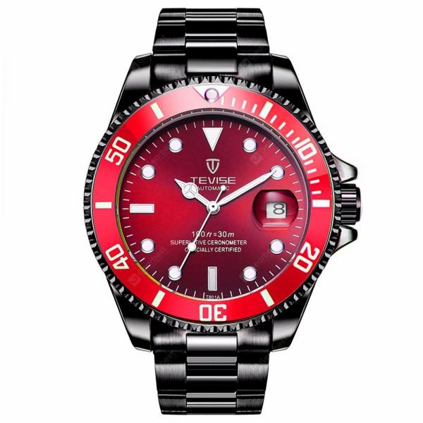 Ceas barbatesc Tevise Mecanic Automatic Luxury Calendar 2