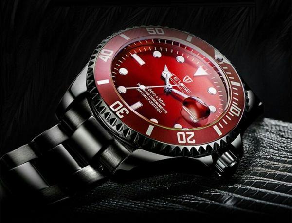 Ceas barbatesc Tevise Mecanic Automatic Luxury Calendar 3