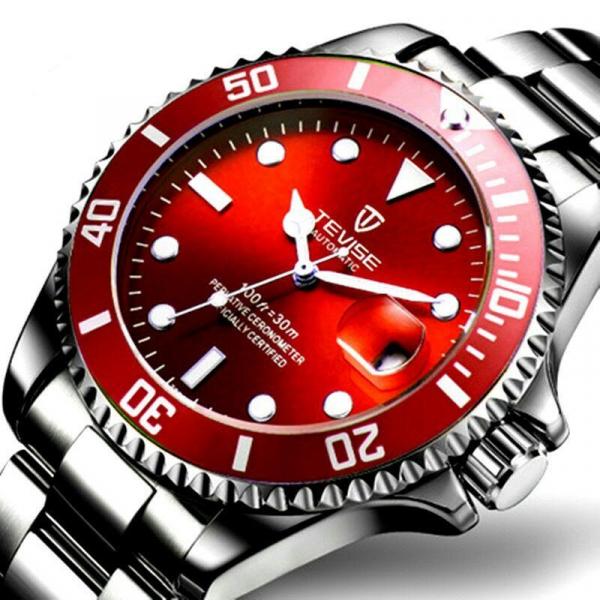 Ceas barbatesc Tevise Mecanic Automatic Luxury Calendar 0
